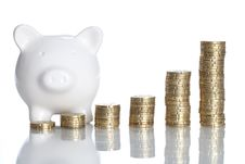 Free Piggy Bank Royalty Free Stock Images - 16081809