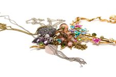 Free Costume Jewellery Royalty Free Stock Photography - 16081817