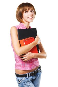 Free Lovely Student Royalty Free Stock Photo - 16082005