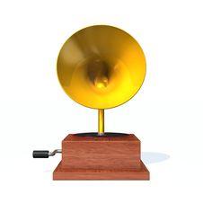 Free Phonograph Royalty Free Stock Photo - 16082035