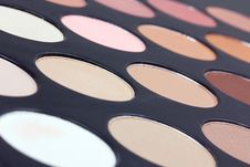 Free Eyeshadows Palette Royalty Free Stock Photo - 16082825