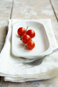 Tomatoes Cherry Stock Photography