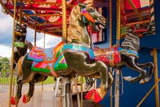Free Merry-Go-Round Royalty Free Stock Photos - 16083388