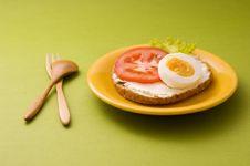 Free Egg Sandwich Stock Photography - 16083722