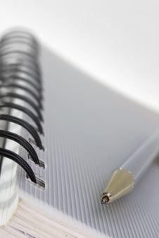 Diary Book Stock Image