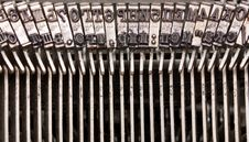 Free Old Typing Device Stock Photo - 16084730