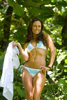 Free Sexy Woman Posing In Bikini Stock Images - 16084754