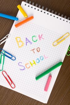 Free Back To School Concept Royalty Free Stock Photography - 16084837