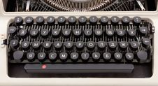 Free Old Typing Device Royalty Free Stock Photos - 16084868