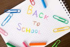 Free Back To School Concept Royalty Free Stock Photo - 16084995