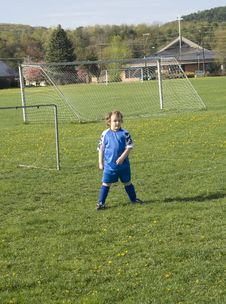 Free Soccer Player Royalty Free Stock Photography - 16085007