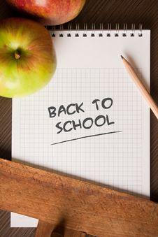 Free Back To School Concept Stock Photos - 16085033