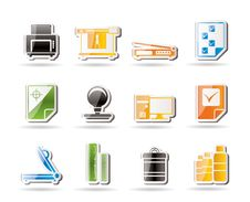 Free Print Industry Icons Stock Images - 16085364