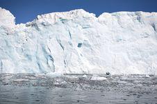 Free Arctic Glacier Landscape (Spitsbergen) Royalty Free Stock Image - 16085516
