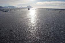 Free Polar Landscape - Frozen Fjord ( Stock Images - 16085524