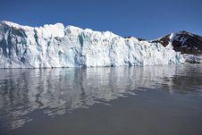 Free Arctic Glacier Landscape (Spitsbergen) Stock Photography - 16085552