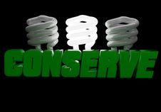 Free Conserve Energy Logo Stock Photography - 16085772