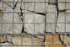 Free A Fragment Of Gabion Wall Stock Photos - 16085873