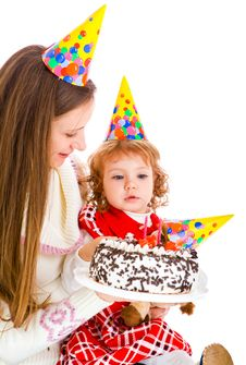 Free Birthday Cake Royalty Free Stock Photography - 16085877