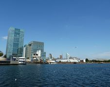 Free London Docklands Water View Stock Photography - 16086032