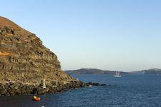 Free Gorgeous View Of Romantic Santorini Stock Photos - 16086043