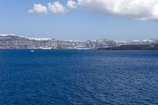 Free Gorgeous View Of Romantic Santorini Royalty Free Stock Image - 16086066