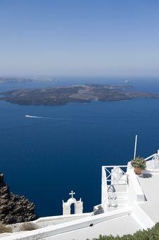 Free Church Bells On Santorini Island Stock Photography - 16086322
