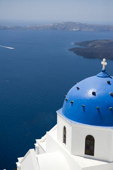 Free Church Bells On Santorini Island Royalty Free Stock Photo - 16086355