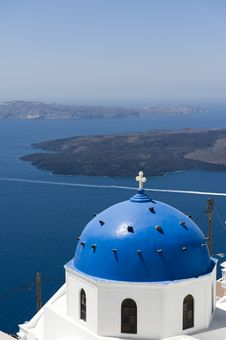 Free Church Bells On Santorini Island Stock Photo - 16086380