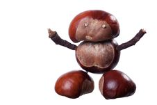 Free Chestnuts Toys Royalty Free Stock Photos - 16086978