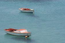 Free Anchored Boats Royalty Free Stock Photos - 16086988