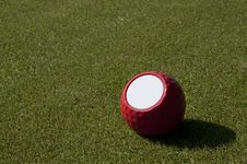 Golf Ball Royalty Free Stock Photo