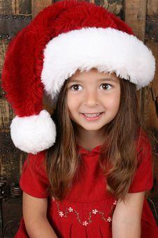 Free Christmas Brunette Royalty Free Stock Image - 16087536