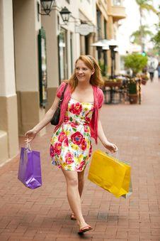 Free Woman Shopping Stock Photos - 16088193