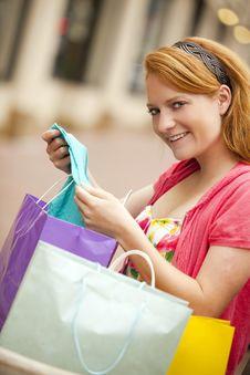 Free Woman Shopping Royalty Free Stock Photo - 16088195
