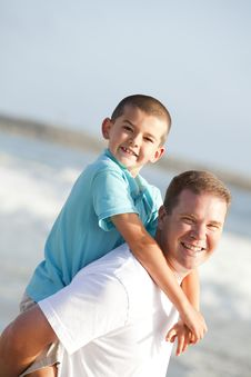 Free Father And Son Royalty Free Stock Image - 16088236
