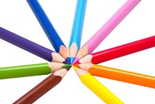 Free Colored Pencils Royalty Free Stock Photos - 16088658