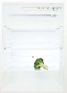 Free On Boquet Of Broccoli In The Refrigerator Royalty Free Stock Image - 16088706