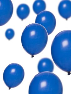 Free Blue Balloons Stock Images - 16088784