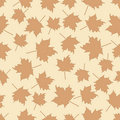 Free Seamless Pattern With Leafs Stock Photography - 16090872