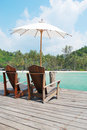 Free Beach Chair At The Resort, Thailand Stock Photos - 16093133