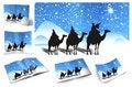 Free Christmas, Illustration Of Christmas Card Royalty Free Stock Image - 16099026
