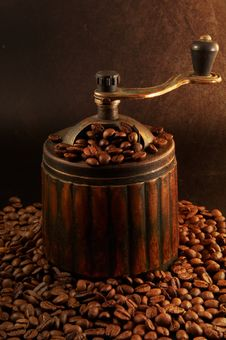 Old Coffee Grinder Stock Image