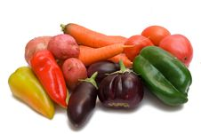 Free Set Of Different Vegetables Royalty Free Stock Photo - 16090165