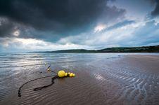 Free Yellow Beach Buoys Royalty Free Stock Photos - 16090488