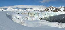 Free Arctic Glacier Panorama Stock Image - 16090551