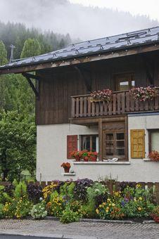 Free The Small Village Of Le Praz Stock Image - 16091961