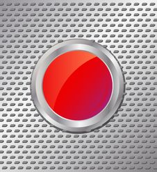 Free Red Button Stock Images - 16091964