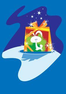 Christmas  Box Stock Image