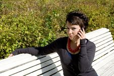 Free Talking By Phone Royalty Free Stock Photography - 16092507